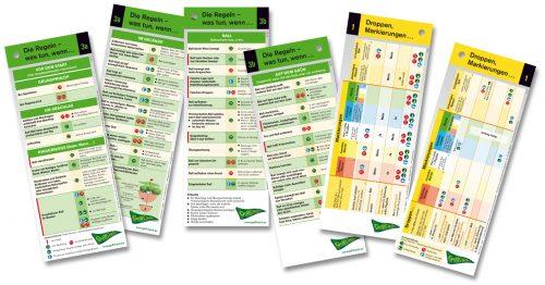 Golfregeln 2019 aktuell und extrem kompakt. auf einen Blick. GolfCheck-small. Vom Abschlag bis zum Grün. Erleichterungsbereiche (Penalty Area) , Droppen ,
