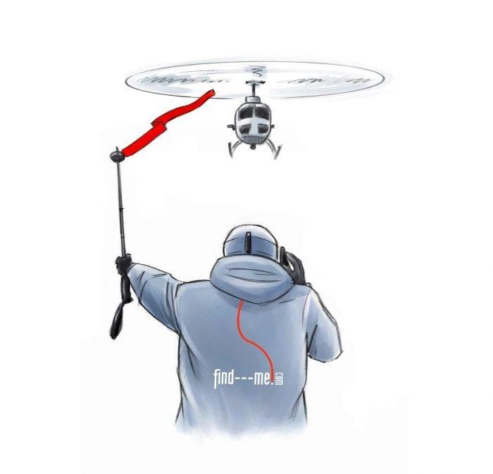 Find---me! Bänder zum Helikopter Einweisen, Absperren, Notverzurrung, Notverbände, Stabilisierung bei Verletzungen, Notschienen,