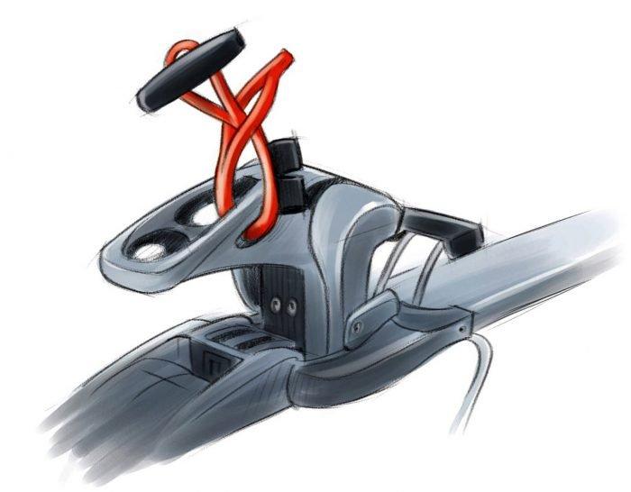 find---me Ski-Connector am Bindungs-Vorderbacken-Hinterbacken oder am Skistopper-befestigen. Unsere Empfehlung ist der Vorderbacken.
