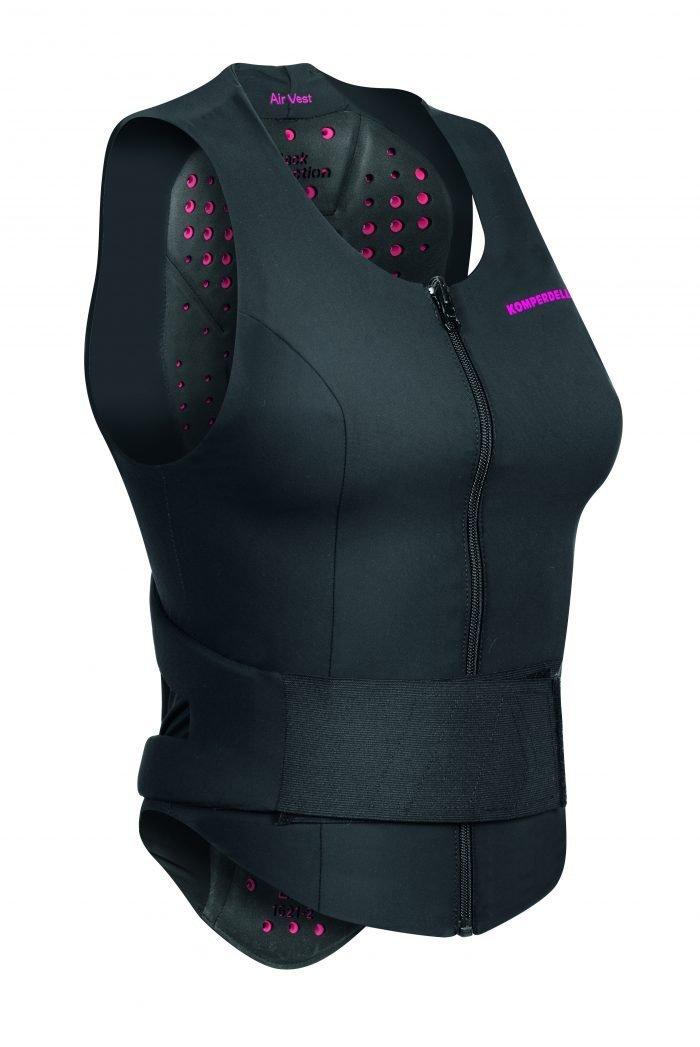 Air Vest Rückenprotektor, für Damen, atmungsaktiv, ergonomisch, Oberkörper Protektor, Protektoren, Schutz, Schutzausrüstung, Torso
