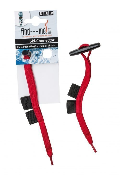 find---me-Ski-Connector für 2. Paar Ski