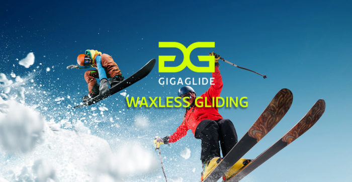 Gigaglide Imagebild waxless ski gliding