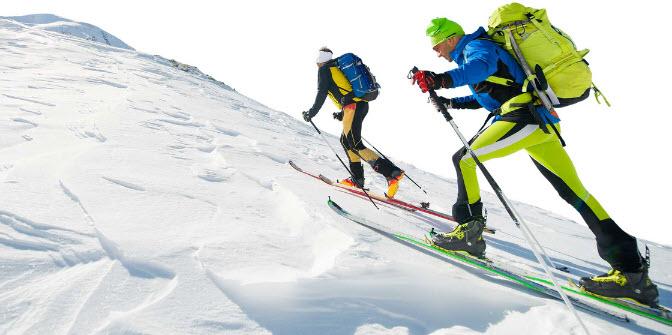 Skitouren Geheen Gigaglide Tour wachsloses Ski und Fell präparieren