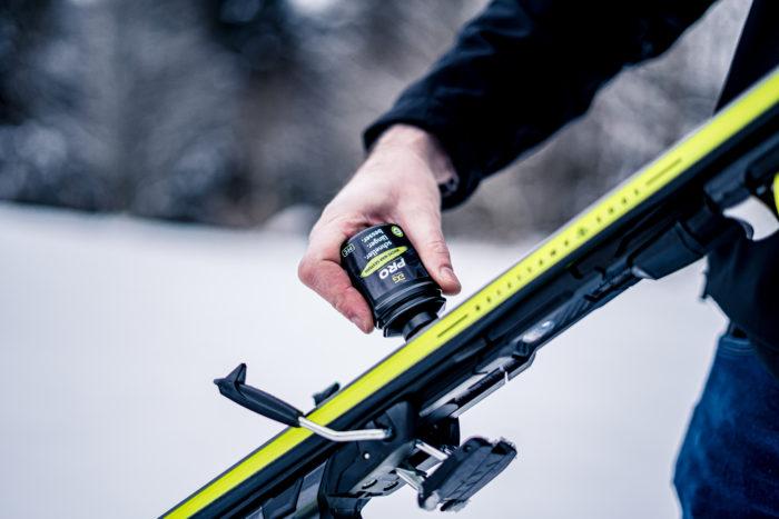 gigaglide_Pro für Alpinski -Einfaches Skipräparieren - auch noch vor dem Start